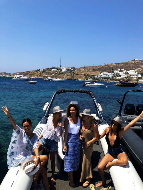 Don Blue private boat rental - Mykonos Guests