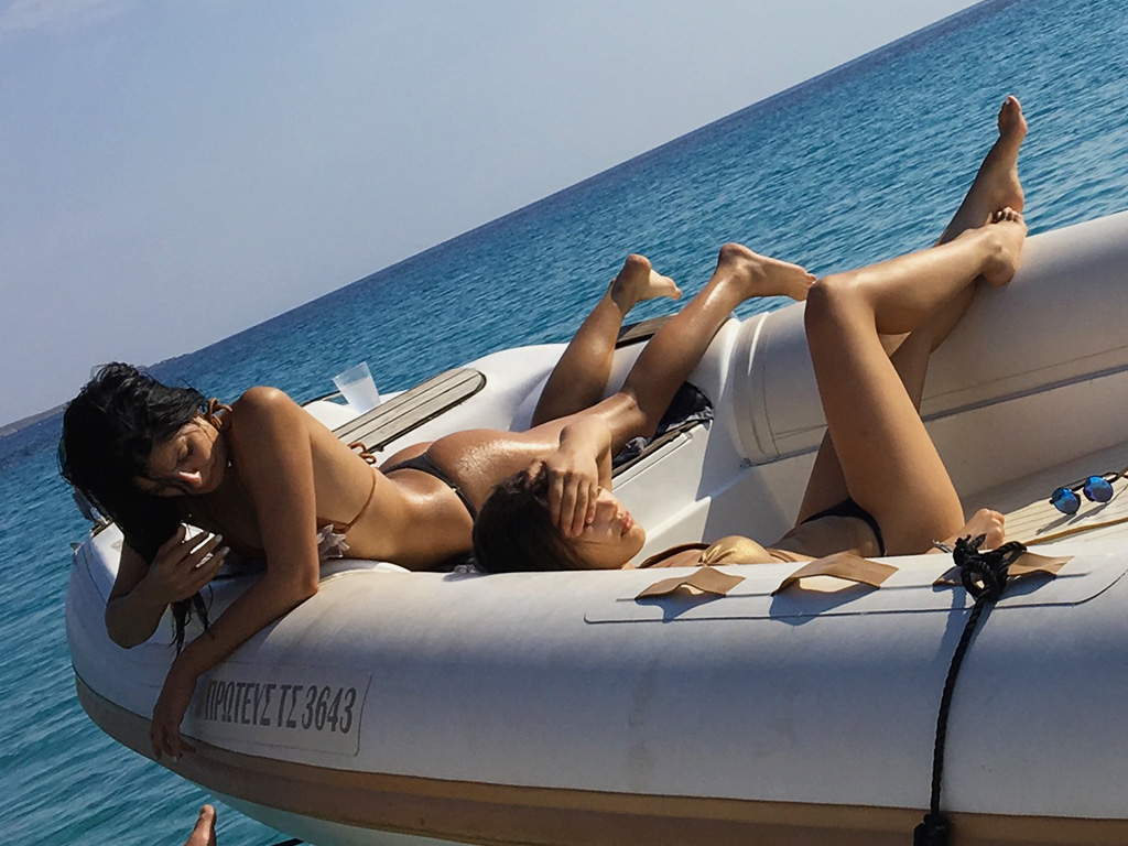 Mykonos Private Cruise Boat Rental - Don Blue Yachting