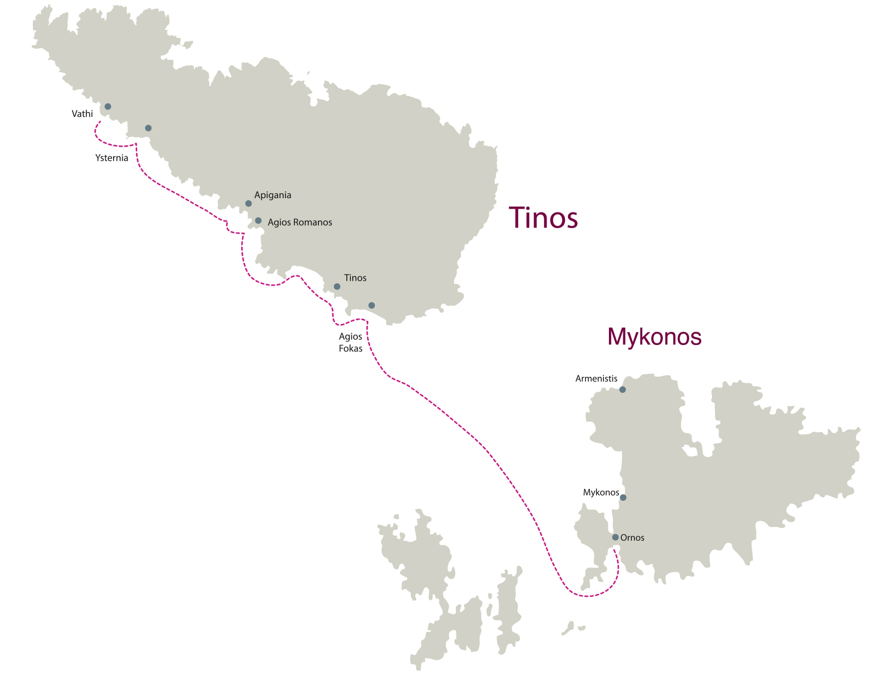 on Blue Yacthing - Private Cruise - Mykonos Tinos Route