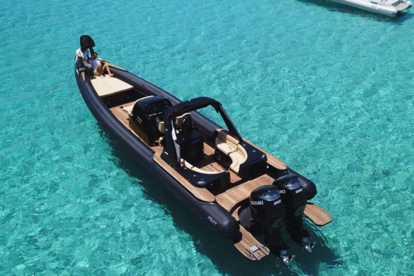 Mykonos Private Boat for rent - Don Blue Yachting - AEOLUS FOST BIG MATRIX Black edition