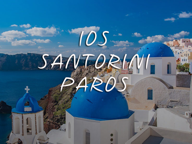 Mykonos-Ios-Santorini-Paros-Don Blue Private Cruise