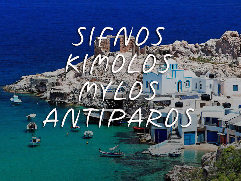 Sifnos - Kimolos - Mylos - Antiparos - Private Cruise - Featured