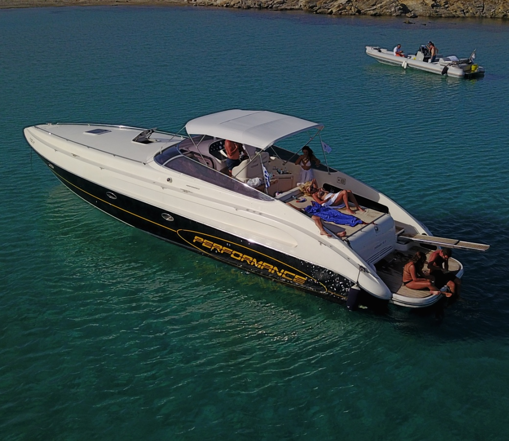 Private boats for rent in Mykonos - Don Blue Yachting