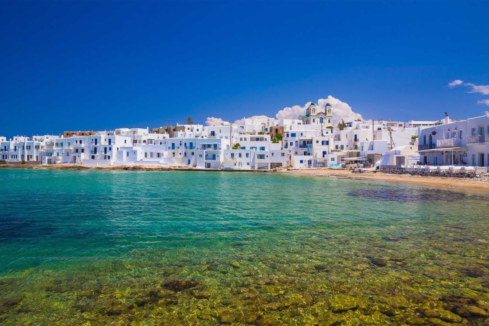 Antiparos - Paros 2 days private cruise