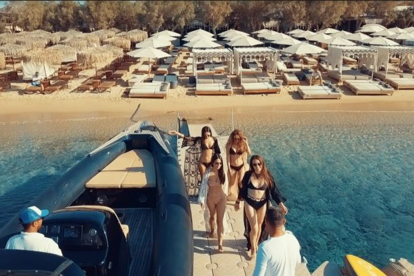 Mykonos Sea transfers - Don Blue Private Boat Rentals