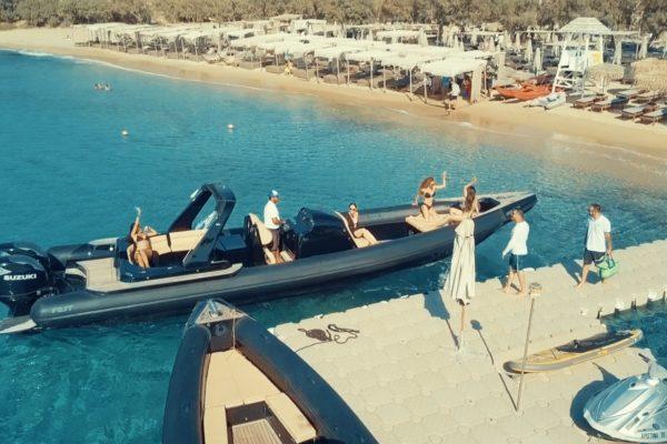 Mykonos Tender Services - Don Blue Private Boat Rentals