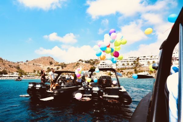 Private Birthday & Bachelor Party in Mykonos - Don Blue Yachting